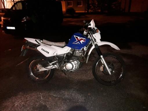 Latvis gabeno, įtariama,Vokietijoje pavogtą motociklą