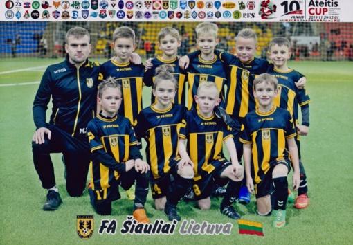 """""""Ateitis CUP"""" turnyre jaunieji šiauliečiai pasirodė geriausiai iš lietuvių"""