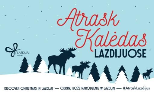 Kalėdines dovanas pirkite Lazdijuose