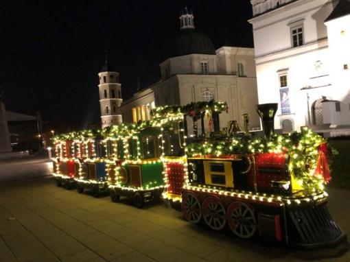 Kalėdų traukinukas kviečia pačius mažiausius!