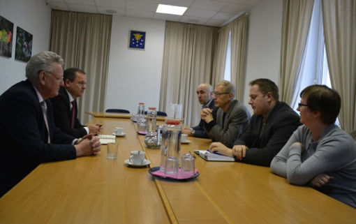 Varėnos rajono savivaldybėje lankėsi Visagino savivaldybės vadovai