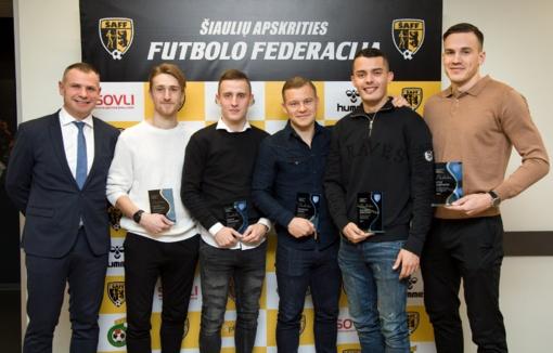 Šiaulių apskrities futbolo bendruomenė surengė apdovanojimų šventę