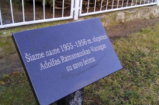 Keturiose Alytaus miesto vietose įrengtos atminimo įamžinimo lentos