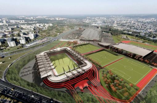 Vilniaus miesto taryba po pateikimo pritarė nacionalinio stadiono koncesijos sutarčiai