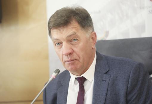 Ekspremjeras A. Butkevičius: nereikėtų panaikinti Seimo pirmininkui apsaugą, bet galima būtų ją sumažinti