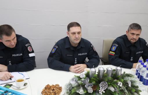 Kauno apskrities policija aktyviau bendradarbiaus su vietos savivaldybėmis