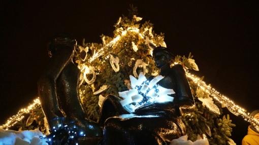 Atidarytas kalėdinis Šimšės miestelis (vaizdo įrašas)