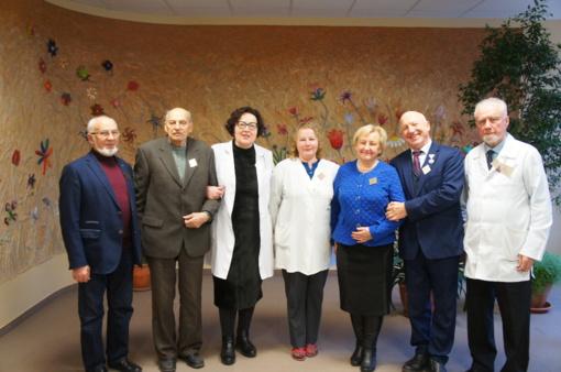 Šiaulių psichiatrijos pradininkai apsilankė klinikoje