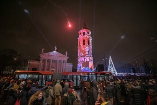 Naujųjų metų naktį viešuoju transportu vilniečiai keliaus nemokamai