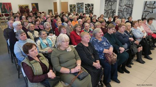 Šiaulių rajono neįgaliųjų draugija šventiškai paminėjo tarptautinę neįgaliųjų dieną