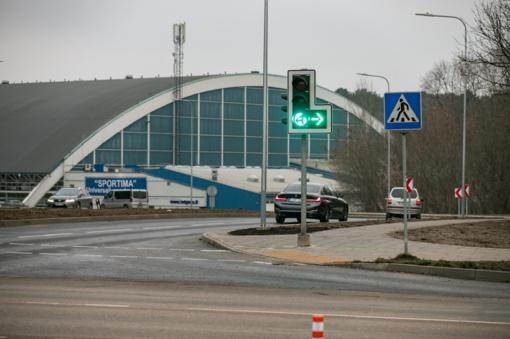 Rekonstruota Ąžuolyno gatvė Vilniuje tapo saugesnė ir modernesnė