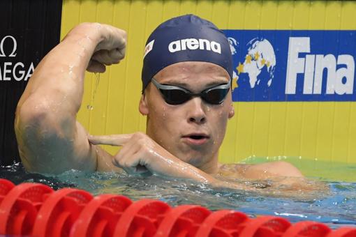 Danas Rapšys iškovojo antrą aukso medalį Europos plaukimo čempionate