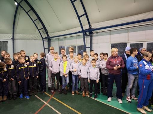Jaunieji riedulininkai dalyvavo turnyre Baltarusijoje