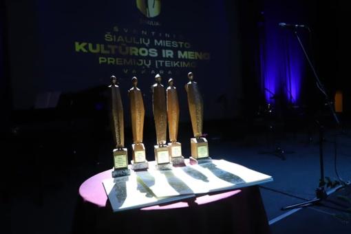 Miesto savivaldybės kultūros ir meno premijos– 4 kūrėjams