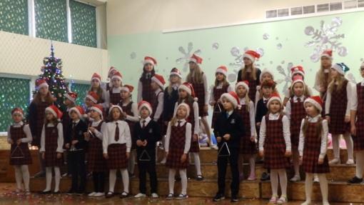 Kalėdų Eglutės įžiebimo rytmetys