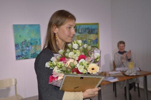 Literatūrinė Vlado Šlaito premija įteikta poetei Jurgitai Jasponytei
