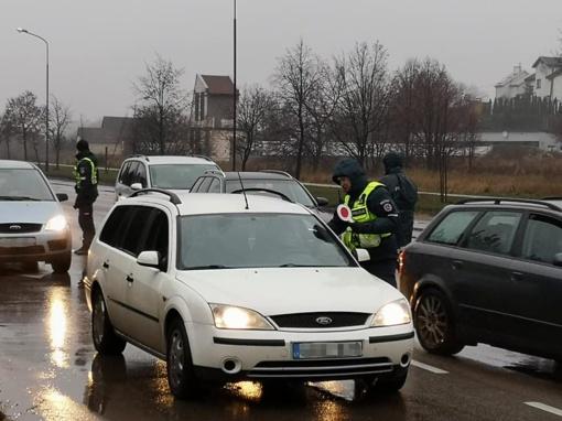 Šiauliuose vėl vyko reidas: patikrinta virš 2000 vairuotojų