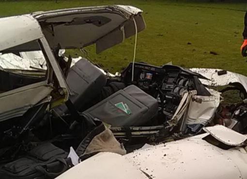 Greta Kauno nukritus lėktuvui žuvę vyrai – pilotas instruktorius ir jo mokinys