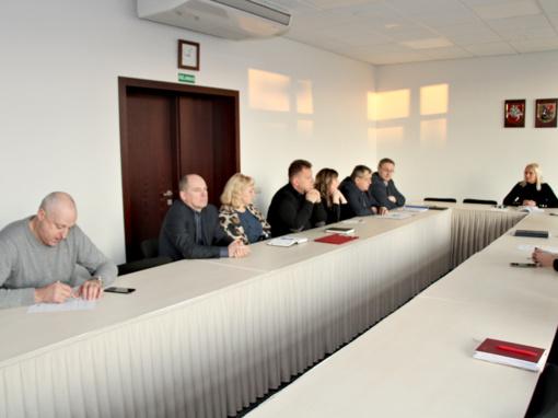 Ekstremalių situacijų komisija aptarė pasirengimą šaltajam laikotarpiui