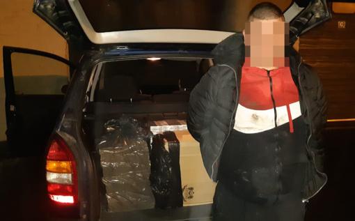 Vilniuje įkliuvo kontrabandines cigaretes gabenęs Šalčininkų rajono gyventojas