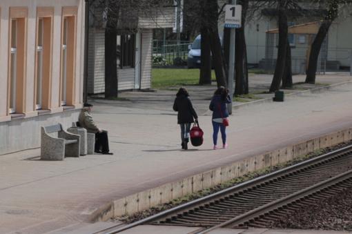 Šiauliuose geležinkelio stotyje siautėjo vyras