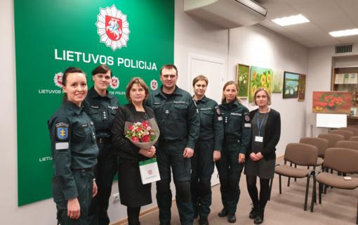 Ignalinos policijoje atidaryta tapybos paroda
