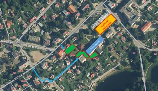 Dėl remonto prie Savivaldybės laikinai uždaroma automobilių aikštelė