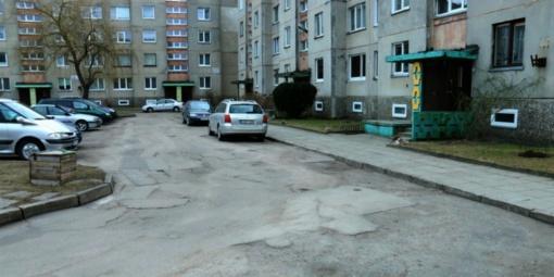 Tauragėje pradėtas viešasis pirkimas dėl automobilių aikštelių įrengimo Dainavos gatvėje