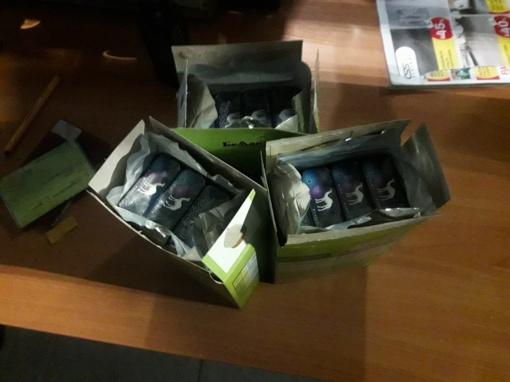 Vaikiško mišinio dėžutėse vilnietis slėpė kontrabandines cigaretes