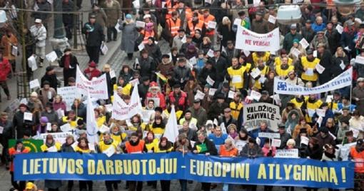 Visoje Europoje vienoda minimali alga - įmanoma?