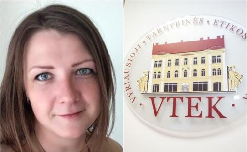 VTEK vertins buvusios Lazdijų rajono savivaldybės merės padėjėjos E. Stasiškienės elgesį