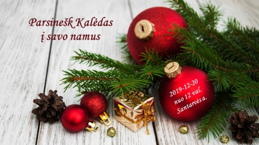Parsinešk Kalėdas į savo namus