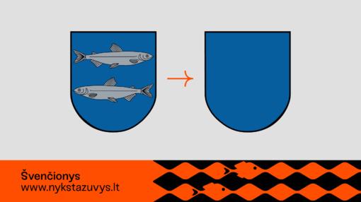 Kodėl iš Lietuvos miestelių herbų dingo žuvys?