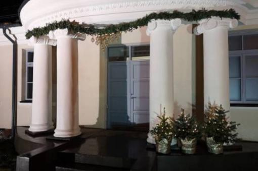Į Kalėdų rezidenciją plūsta lankytojai
