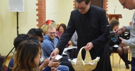 Užsieniečiai studentai Klaipėdoje atrado Kalėdas