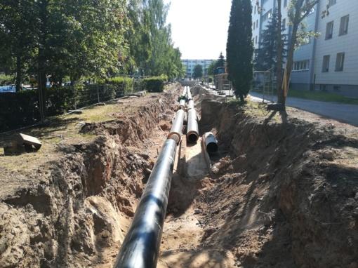 Panevėžyje laukia šilumos tinklų rekonstrukcija