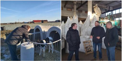 Rudiškių seniūnijoje – savo žemę ir darbą mylintys žmonės