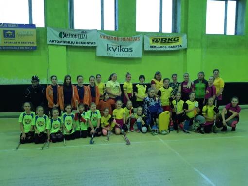 Prasidėjo Lietuvos vaikų riedulio lygos varžybos