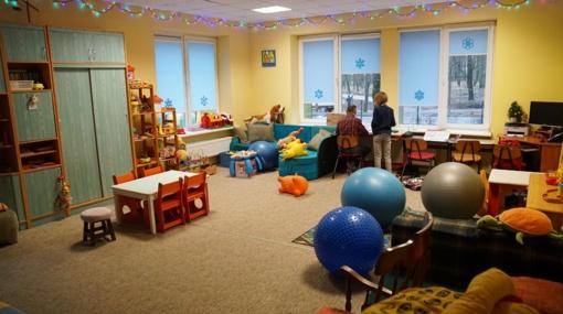 Vaikų dienos centras ir mažiesiems, ir vyresnėliams