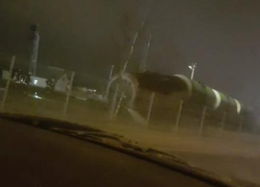 Klaipėdoje nuo bėgių nuvažiavo traukinio sąstato cisternos, išbėgo dyzelinas