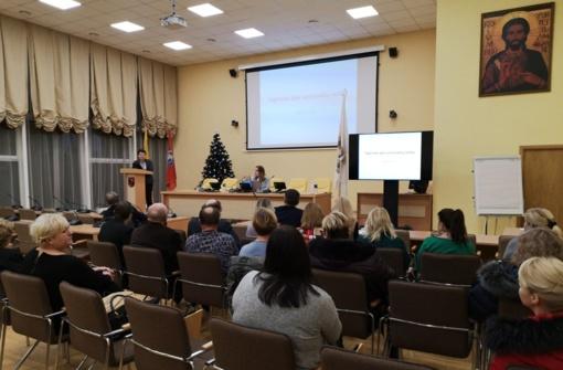 Vilniaus rajono seniūnaičiai dalyvavo praktiniuose mokymuose