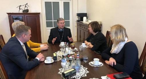 Susitikimas su Telšių vyskupu Kęstučiu Kėvalu