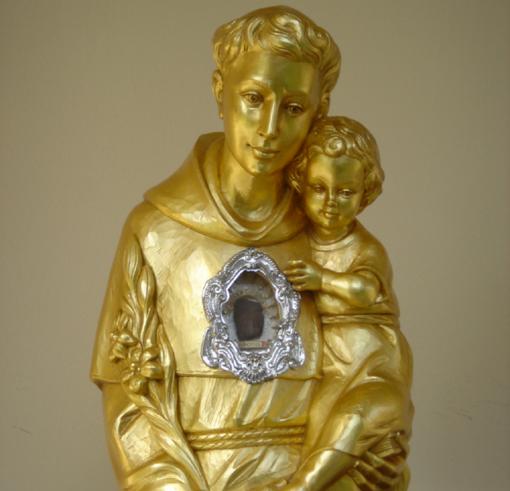 Į Žemaitiją atvežama šv. Antano Paduviečio relikvija