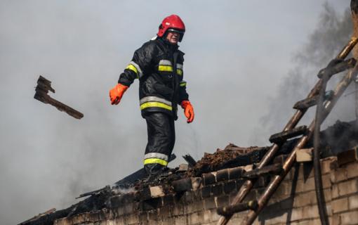 Ugniagesių techniniam aprūpinimui - papildomas milijonas eurų