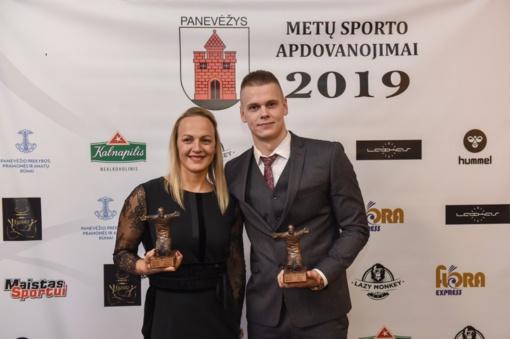 Geriausi Panevėžio sportininkai – Simona Krupeckaitė ir Danas Rapšys