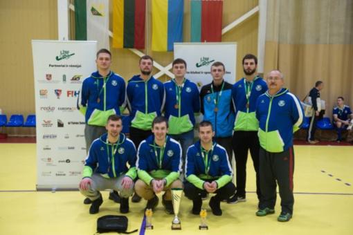 """Tarptautiniame """"Žalgiris Open"""" turnyre iškovoti bronzos medaliai"""