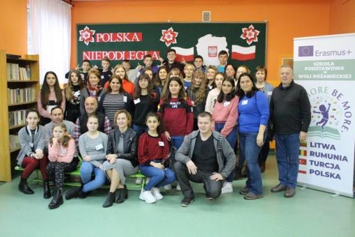 Spalvingos  projekto patirtys Lenkijoje