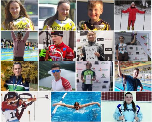 Renkamas geriausių Ignalinos rajono 2019 metų jaunimo sportininkų penketukas