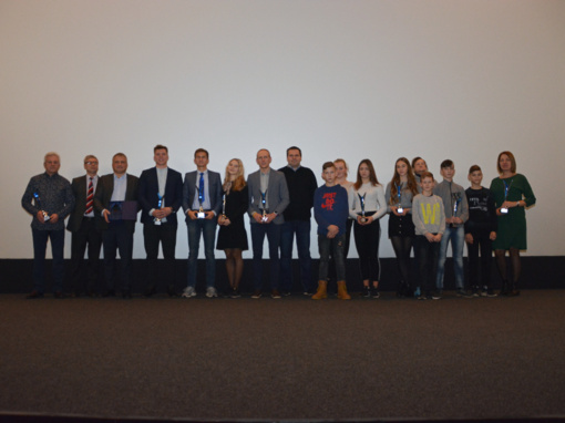 """Sporto centras """"Sūduva"""" apdovanojo geriausius sportininkus"""