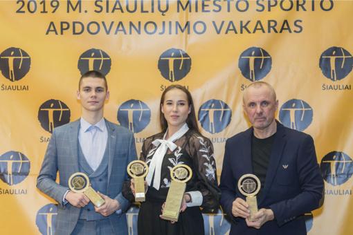 Šiaulių miesto metų sportininkės laurai – Klaudijai Tvaronavičiūtei